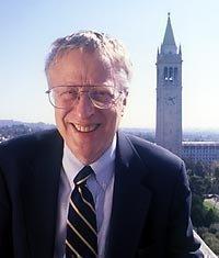 UC Berkeley's George Akerlof won the 2001 Nobel Prize in economic sciences.