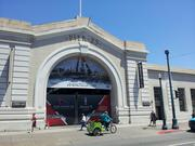 Promotions for the America's Cup racing in 2013 are up at Pier 23.