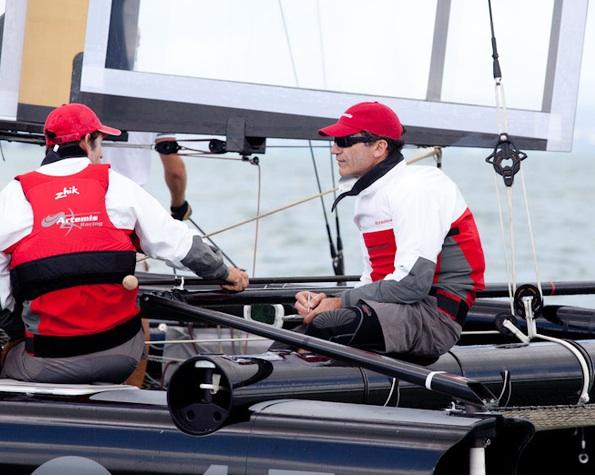 A Bay Area kid, Paul Cayard, is skipper of the Swedish team challenging for the America's Cup.