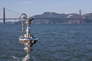 Congress waived sailing laws to allow for America's Cup racing.