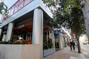 Several new restaurants, like La Boulange, have street-facing entrances.