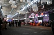 The 120,000-square-foot space can accommodate up to 7,000 people.