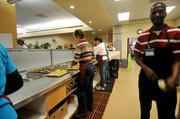 Volunteers at St. Anthony's help churn out over 2,000 meals a day to the homeless and needy. These services are all entirely privately funded.