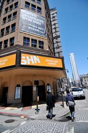 The historic Golden Gate, a remnant of what used to be the city's thriving theater district. It's now operated byShorenstein Hays Nederlander.
