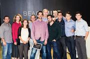 BeachMint's board of directors meeting with the co-founders at last week's quarterly meeting.