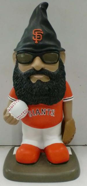 This super awesome Brian Wilson garden gnome was given away this past season.