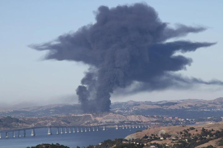 A unit of Chevron's Richmond refinery could be down the rest of the year.
