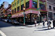 On the corner of Grant and Sacramento streets, China Bazaar is one of several gift shops owned by Betty Louie and her family, who have been in Chinatown for generations. Louie has organized a group of local business leaders to discuss what they can do to help improve the neighborhood.