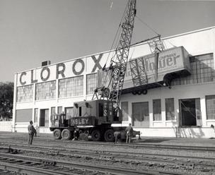 Clorox historic photo Pleasanton research and development operation