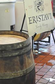 Eristavi Family Winery is one of the handful of independent wineries that is operating out of Treasure Island Wine's 12,000-sqaure-foot facility. Several wineries have sprouted around Treasure Island since 2007, making it a destination within the city for tastings and tours.