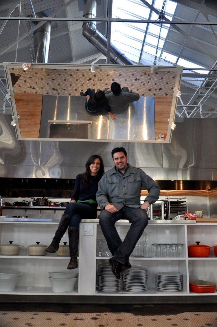 San Francisco Cooking School Founder Jodi Liano and husband, Tony.