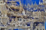 A toothpick structure that took 35 years to build.