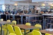 Seaglass, the Exploratorium's new cafeteria.