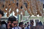 4505 Meats's famous chicharrones (fried pig skins).