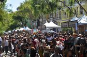 An estimated 80,000 San Francisco residents and visitors showed up to eat on the street.