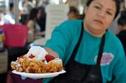 Endless Summer Sweets' funnel cakes were a huge hit.