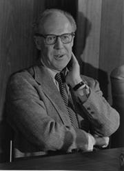 Gerard Debreu of UC Berkeley won the 1983 Nobel Prize for economics.