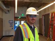 Doug Barbaro, project manager for Novo Construction
