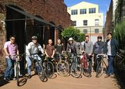Employees of Berkeley's ELS Architecture and Urban Design drew up a perfect Bike to Work Day.