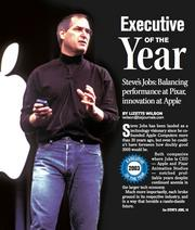 Executive of the Year for 2003: Steve Jobs, CEO of Apple Computer.