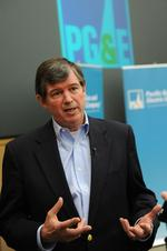 PG&E boss <strong>Earley</strong> reviews his first year