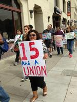 Restaurant walkouts may help unions