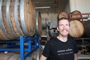 Carl Sutton, owner of Sutton Cellars, maker of wines and a rare California artisinal vermouth.