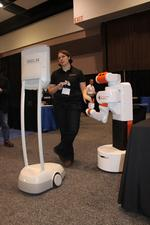 Robots mean business in Silicon Valley