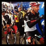 Jens Voigt, a German rider on the Radioshack-Nissan team, is popular among fans.