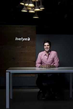 Jordan Kretchmer, who started Livefyre, is its CEO.