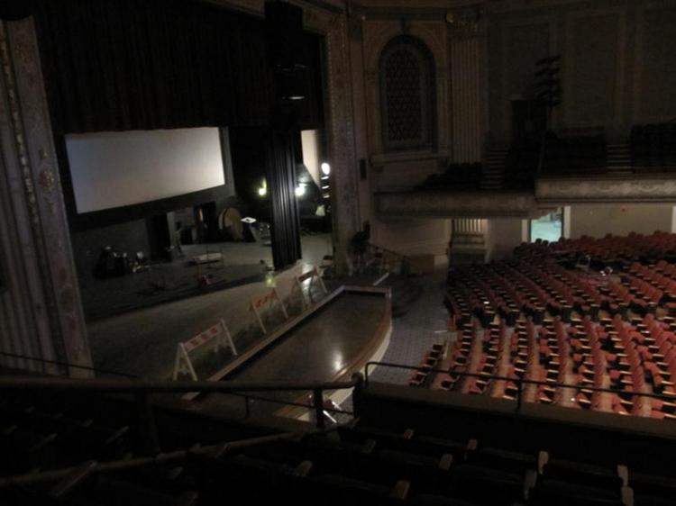 The City of Oakland wants to find a new use for the Kaiser Convention Center. Pictured here: a view of the auditorium.