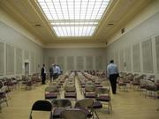 The City of Oakland wants to find a new use for the Kaiser Convention Center. Pictured here: a room for events.
