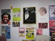 The City of Oakland wants to find a new use for the Kaiser Convention Center. Pictured here: posters for performances.