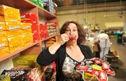 """CEO Susan Karl runs Annabelle Candy Co. in Hayward, producing some $25 million a year in revenue from 50 million candy bars. Karl prefers a collegial leadership style. """"I like to have happy workers,"""" she said. The top-selling candy: Rocky Road, a blend of chocolate, cashews and marshmallow. Annabelle owns Big Hunk and Look candy bars, among others."""