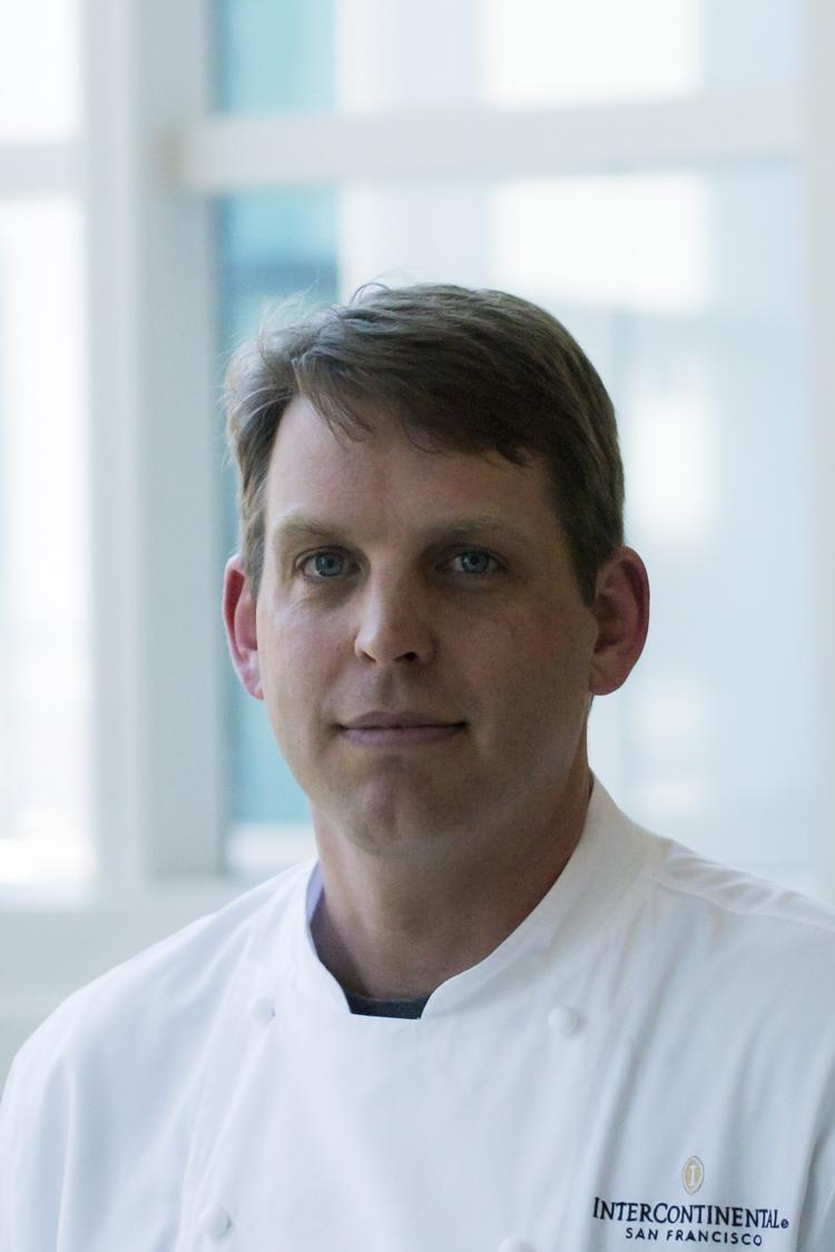 Kevin Dempsey was promoted to executive chef at the InterContinental San Francisco.
