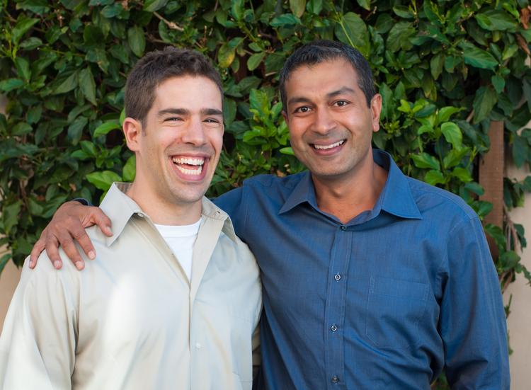 Kidaptive co-founders Dylan Arena, left, and P.J. Gunsagar, who are chief learning officer and CEO, respectively.