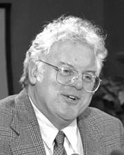 Robert Laughlin of Stanford shared the 1998 Nobel Prize in physics.