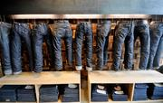Levi's jeans throughout the ages.