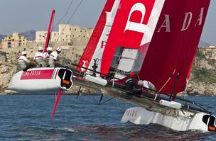 Italy's Luna Rossa team accused Oracle Team USA of spying.