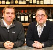 Maritime Wine Trading Collective's Elijah Pfister, COO and co-founder (left) and Chris Nickolopoulos, CEO and co-founder.