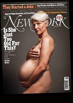 moore magazine Demi cover pregnant