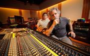 Bob Weir and TRI Studios CEO Chris McCutcheon at a nearly $1 million soundboard Weir got in a sweet deal from the manufacturer in exchange for a performance.