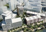 A rendering of Strada Investment Group's Mission Bay project.