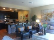 The interior of one of Lennar Corp.'s model homes in Mountain House.