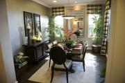 This is a staged dining room in one of Shea Homes' model homes.