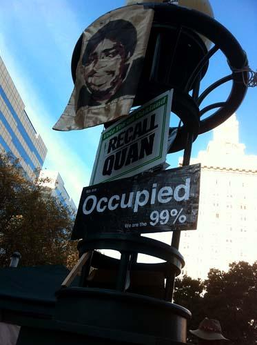 Though critics of the way Oakland has handled the protests want to recall Mayor Jean Quan, so, apparently, do some of the occupiers themselves.