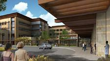 A rendering of what the new PAMF San Carlos clinic will look like.