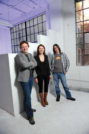Best Startup: Cloudflare Pictured: CEO Matthew Prince, co-founder Michelle Zatlyn (center) and Lee Holloway, lead engineer (right).