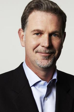 Netflix boss Reed Hastings.