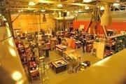 A working studio at the Exploratorium.